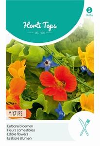 Eetbare bloemen - eenjarige soorten mengsel   NIEUW