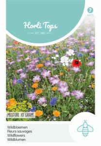 Wildebloemen mengsel      voor  10 m2    -   inhoud zakje  10 gram