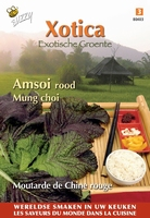 Amsoi Rood Mung Choi ( rode mosterdkool )