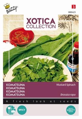 Komatsuna Mosterd Spinazie