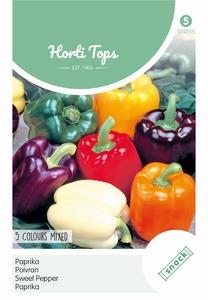 Paprika 5 Kleuren