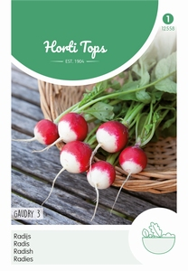 Radijs Gaudry 3, Ronde Rode Witpunt