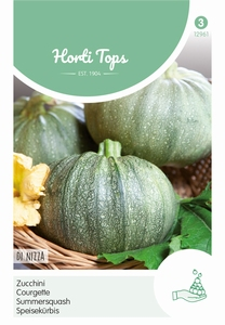 Courgette De Nice A Fruit Rond