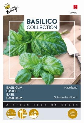 Basilicum slabladig, sterke smaak, Basilico