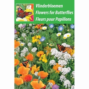 Vlinderbloemen  weggeef zakje