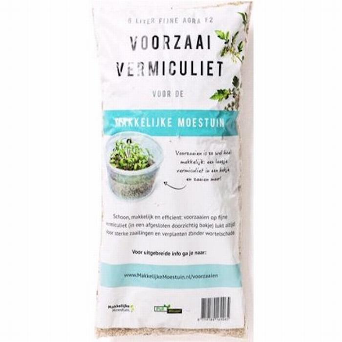 Vermiculite  Agri  -  zak 6 Ltr   (staffelprijzen)