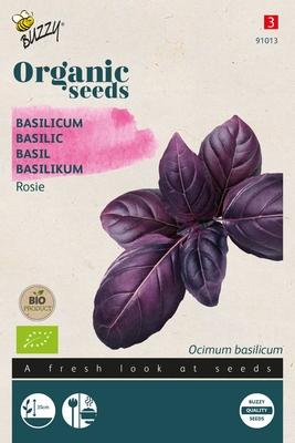 Bio Organic Basilicum Rosie (BIO)