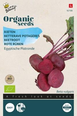 Bio Organic Bieten Egyptische Platronde (BIO)
