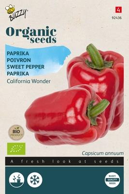 Bio Organic Paprika California Wonder  (BIO)