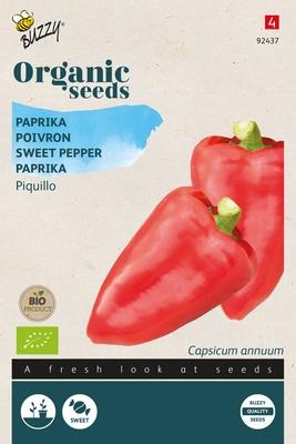 Bio Organic Paprika Piquillo rood  (BIO)