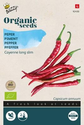 Bio Organic Peper Cayenne long slim (BIO)