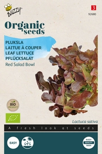 Bio Organic Pluksla Red Salad Bowl  (BIO)