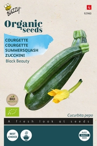 Bio Organic Courgette Black Beauty  (BIO)