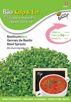 Bio Knip & Eet Basilicumkers  (BIO)