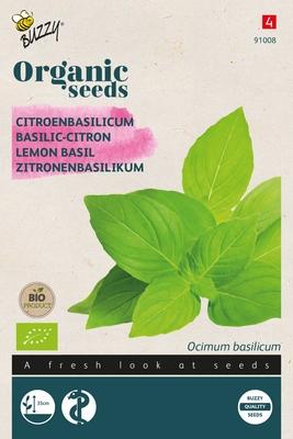Bio Organic Basilicum Citroensmaak (BIO)