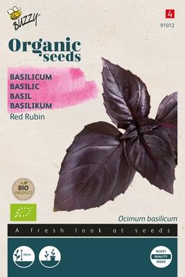 Bio Organic Basilicum Red Rubin (BIO)