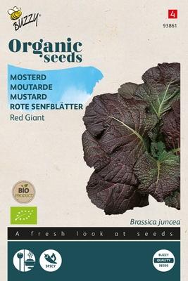 Bio Organic Mosterd Red Giant (BIO)