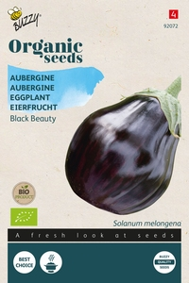Bio Organic Aubergine Black Beauty  (BIO)