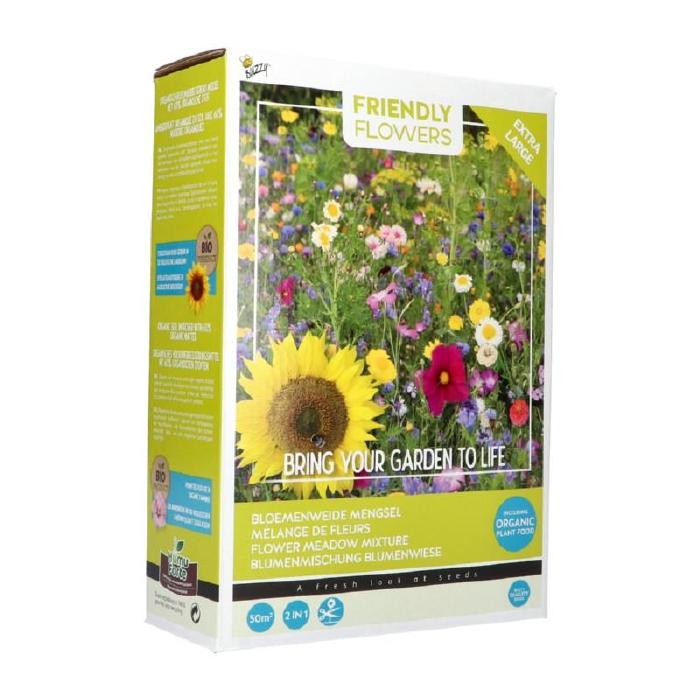 Mix voor  bloemenweide (GROOT), mengsel van 50 soorten