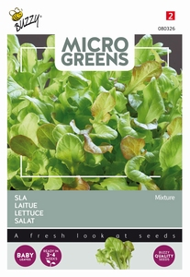 Microgreens Sla gemengd      NIEUW