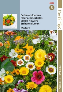 zaai, Eetbare bloemen - eenjarige soorten mengsel   NIEUW