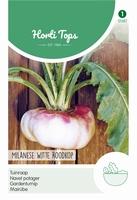 Rapen Milanese (platte) Witte Roodkop