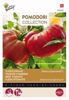 Vleestomaat supersteak F1 hybride, forse tomaat