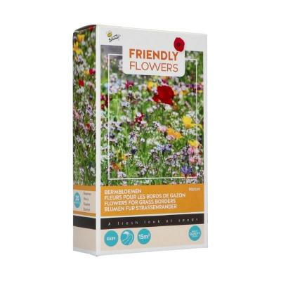 Mix voor bermen,  doosje bloemenmix voor bermen  20 soorten