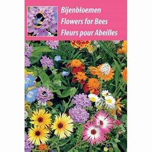 Bijen-Bloemen weggeef zakje