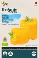 Bio Organic Paprika Yellow California Wonder (BIO)