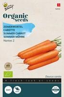 Bio Organic Zomerwortelen Nantes 2  (BIO)