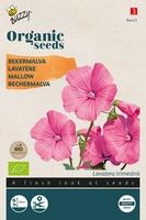 Bio Organic Lavatera trimestris rose/rood  (BIO)