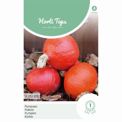 Pompoen Oranje Zon, Uchiki Kuri, echte  'Hokkaido'-pompoen