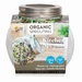 Kiemgroente glazen kweekpot, Organic Sprouting pot Salademix