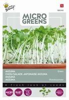 Microgreens Mizuna green     NIEUW